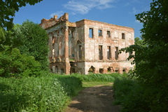 Ruined mansion house Royalty Free Stock Image