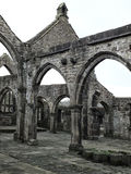 Ruined Medieval Church Royalty Free Stock Photos