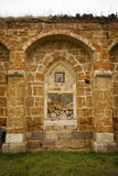 Ruined Monastery Window Royalty Free Stock Photos