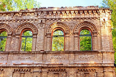 Ruined old building, Kyiv, Ukraine Stock Photos
