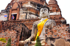Free Ruined Old Temple Of Ayutthaya, Thailand, Royalty Free Stock Photos - 18727798