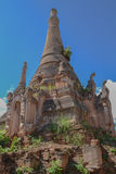 Ruined pagoda, Inle lake, Stock Images