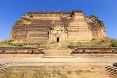 Ruined Pagoda in Mingun Paya / Mantara Gyi Paya Royalty Free Stock Images