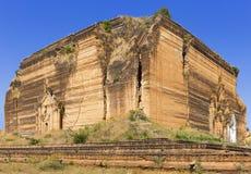 Ruined Pagoda in Mingun Paya / Mantara Gyi Paya Royalty Free Stock Photo
