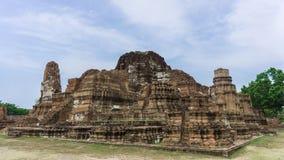 Ruined pagodas in Ayutthaya. Thailand Stock Photos