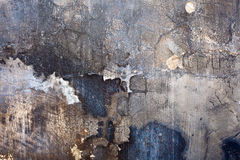 Ruined Painted Wall Texture Royalty Free Stock Image