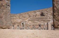Ruined Persepolis city Royalty Free Stock Photo