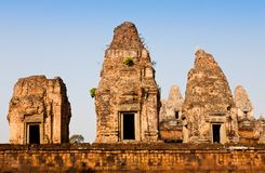 Ruined Pre Rup Temple in Angkor, Cambodia Stock Photo
