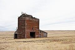 Ruined railroad depot Royalty Free Stock Image