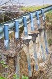 Ruined road Royalty Free Stock Photo