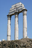 Ruined Roman Pillars / Columns Stock Photography