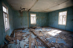 Ruined room Stock Images
