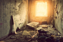 Ruined room Royalty Free Stock Images