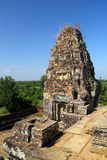 Ruined Sandstone Structure at Angkor Wat Stock Photos