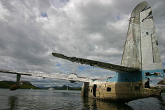 Ruined Sea Plane Stock Photos
