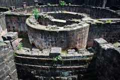 Ruined Spanish Fort Royalty Free Stock Photography