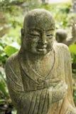 Ruined statue Ksitigarbha Bodhisattva Stock Image