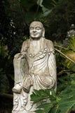 Ruined statue Ksitigarbha Bodhisattva Stock Images