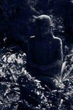 Ruined statue Ksitigarbha Bodhisattva Stock Photos