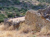 Ruined Stone Building Royalty Free Stock Photography