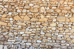 Ruined stone wall Royalty Free Stock Photos