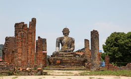 Ruined Temple -  Laos Stock Image