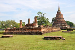 Ruined Temple in Sukhothai Stock Photography