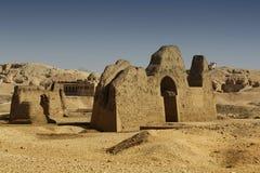 Ruined tombs Stock Photo
