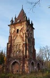 Ruined tower Chapelle Royalty Free Stock Photography