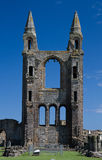Ruined tower of St. Andrews Cathedral Stock Photos