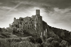 Ruined Village Of Craco Royalty Free Stock Images