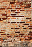 Ruined wall Royalty Free Stock Image