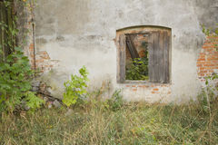 Ruined wall Royalty Free Stock Images