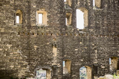 Ruined Walls Of Chateauneuf de Pape Royalty Free Stock Images