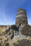 Ruined Windmill Mynydd Parys, North Wales Royalty Free Stock Image