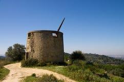 Ruined Windmill Stock Image