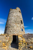 Ruined windmill on Parys Mountain Royalty Free Stock Photo