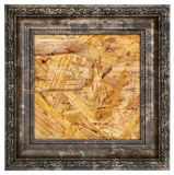 Ruined wooden frame Royalty Free Stock Photo