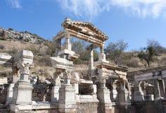 Ruinen alter Stadt Ephesus Lizenzfreies Stockbild