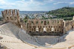 Ruinen in Athen stockfoto
