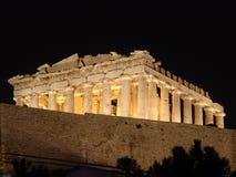Ruinen in Athen Stockbilder