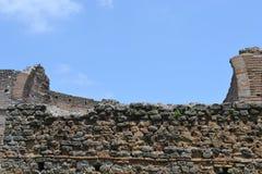 Ruinen auf appia antica stockfoto
