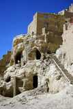 Ruinen auf dem Hügel lizenzfreies stockfoto