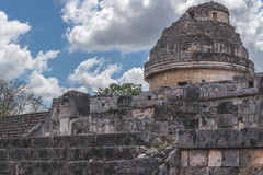 Ruinen bei Chichen Itza Lizenzfreies Stockbild