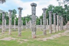 Ruinen Chichen Itza Lizenzfreies Stockbild