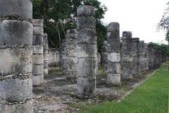 Ruinen Chichen Itza Stockfoto