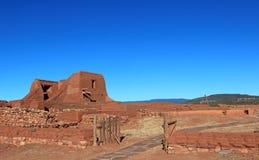 Ruinen, chursh Stockfotografie