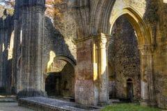 Ruinen der Abtei von Orval in Belgien Lizenzfreies Stockbild