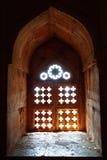 Ruinen der afghanischen Architektur in Mandu, Indien Stockfoto
