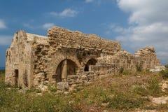 Ruinen der alten byzantinischen Stadt von Afendrika Stockbild
